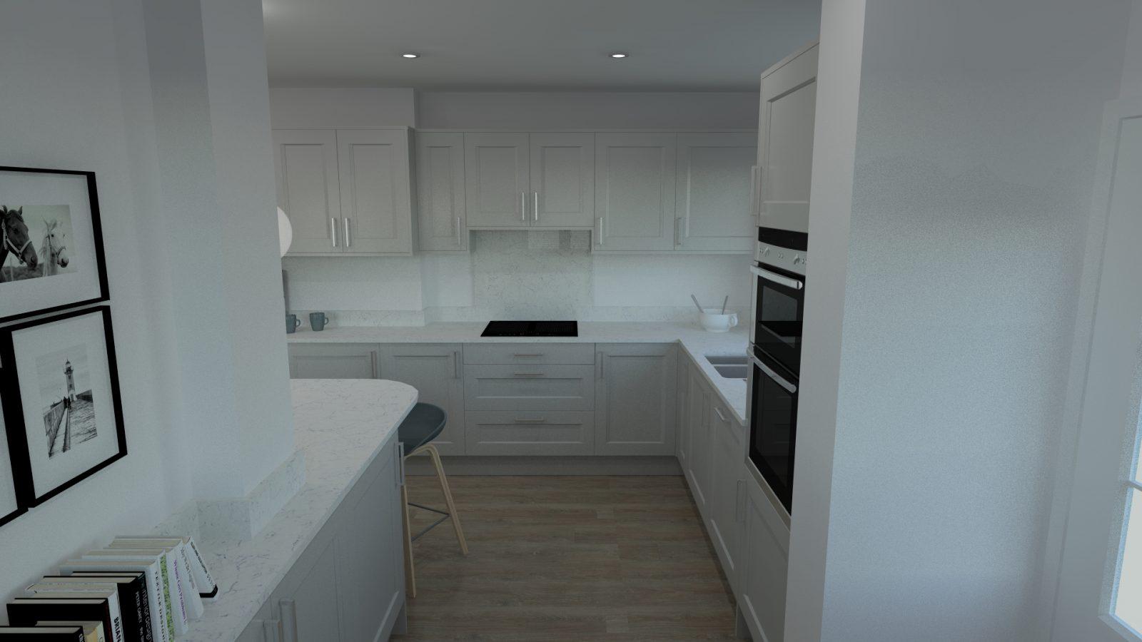 Freelance kitchen design expertise