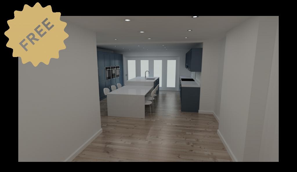 Freelance kitchen design service